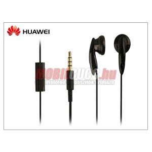 Huawei gyári sztereó felvevős J.B. szett - 3,5 mm jack - Style2 On/Off black (csomagolás nélküli)