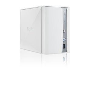 Thecus N2560 (NAS, 2 HDD hely, CPU: Dual Core 1,6 Ghz, RAM: 2GB, SATA, 1x RJ45, 2x USB2.0, 1x USB3.0, 1x HDMI, Audio)