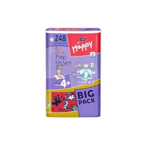 Bella Happy Maxi Plus Big Pack - 248 db