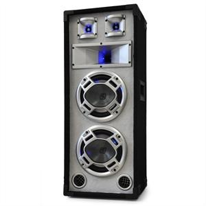 Skytec passzív 2 x 20 cm PA hangfal 600 W teljesítménnyel