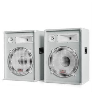 Auna PA hangfalpár 1600 W telj., 38 cm-es mélynyomóval