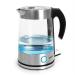 Klarstein Pure Water vízforraló, 1,7 l, 2200 W, kék LED