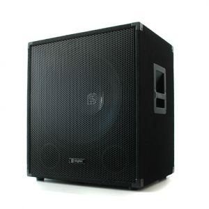 Skytec 38 cm passzív PA subwoofer - basszus hangsugárzó, állvány