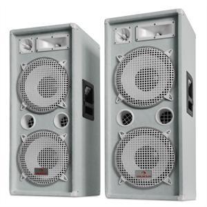 """Auna """"Auna PW 2222"""" 3-utas PA hangfalpár 2000 W teljesítménnyel"""