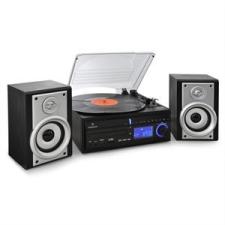Auna Sztereó berendezés Auna DS-2, lemezjátszó, MP3 rögzítés lemezjátszó