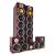 Beng V9B Mahagóni szett surround hangszóró, 5 darab, 1240 W