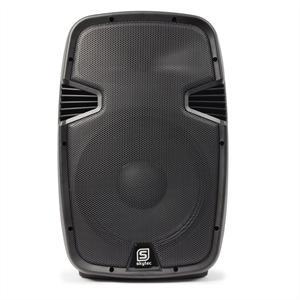 "Skytec SPJ1500A MP3 aktív 38 cm (15"") hangfal, 800 W, MP3"