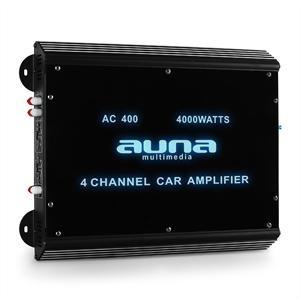 Auna 4-csatornás autóba alkalmas erosíto Auna, 4000 W