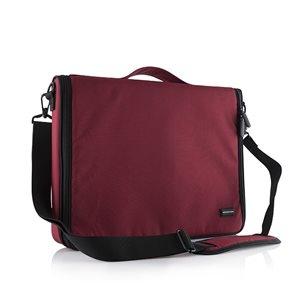 """Modecom Notebook Táska 15,6"""" - Torino (Piros; külön rekeszek; vállpánt)"""