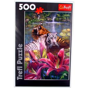 Trefl Fürdőző tigrisek puzzle