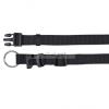 TRIXIE Classic textil nyakörv M-L (2/35-55) fekete
