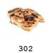 Dekoráció T302 teknős sziget nagy