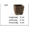 Kerámia M025 ültető edény I.