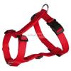 TRIXIE Classic textil hám piros S-M 1,5/40-65cm