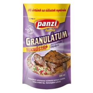 Panzi táp 400 ml teknős granulátum zacskós