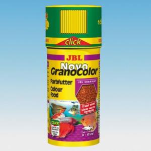 JBL JBL NovoGranoColor (click) 250ml színfokozó granulátum közepes halaknak