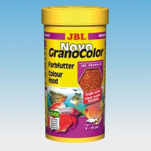 JBL JBL NovoGranoColor 250ml színfokozó granulátum közepes halaknak