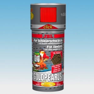 JBL GoldPearls (click) 250ml prémium eleség aranyhalaknak