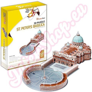 CubicFun Szent Péter-bazilika 3D puzzle