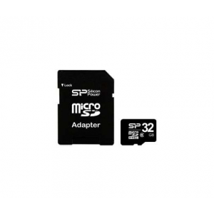 Silicon Power Micro SDHC 32GB + SD adapter Class 6