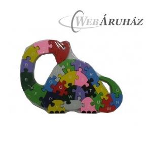Puzzle Fa puzzle dinoszaurusz
