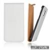 CELLECT iPhone 5C Flip bőr tok, Fehér