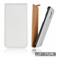 CELLECT iPhone 5C Flip bőr tok, Fehér tablet tok