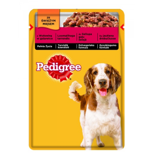 Pedigree ® Marhahússal aszpikban 100g