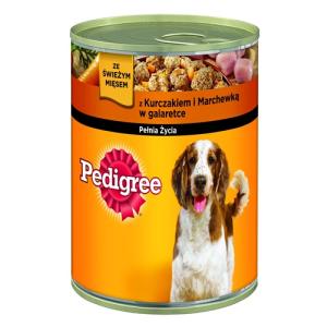 Pedigree ® Csirkehússal és sárgarépával aszpikban 400g
