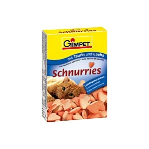 Gimpet Schnurries - vitaminos csemege - lazacos 650db