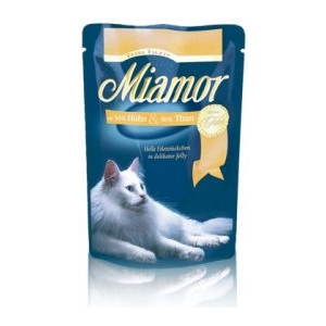 Miamor Feine Filets - tonhal tintahallal alutasakban 100g