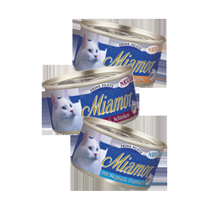 Miamor Feine Filets Naturelle - csirkefilé és sütőtök 80g