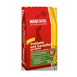 Mera Dog High Premium Pure Turkey & Potato 12,5kg