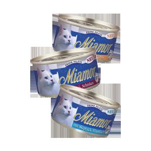 Miamor Feine Filets Naturelle - tonhal filé 80g