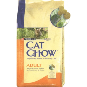 Purina CAT CHOW Adult Chicken & Turkey 2x15kg