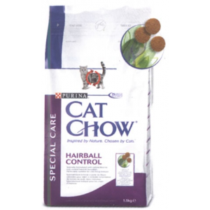 Purina CAT CHOW Special Care Hairball Control 1,5kg