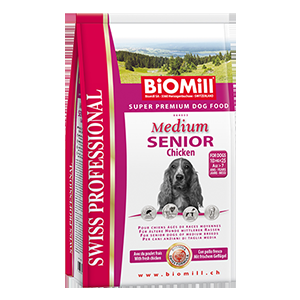 Biomill Swiss Professional Medium Senior 3kg