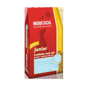 Mera Dog High Premium Junior Pure Turkey & Rice 4kg