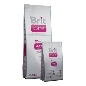Brit Care Junior Large Breed Lamb& Rice 1kg