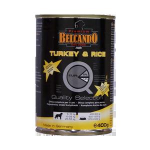 Belcando pulyka+rizs+cukkini - konzerv 400g