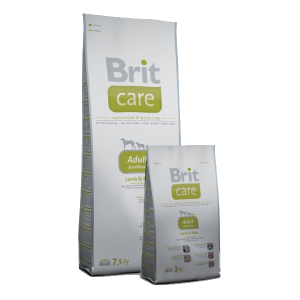 Brit Care Adult Small Breed Lamb& Rice 1 kg
