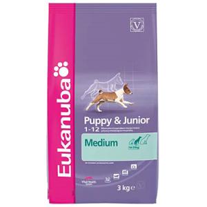 Eukanuba Puppy & Junior Medium Breed 2x15kg