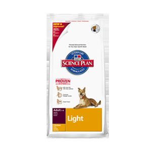 Hill's SP Canine Adult Light Chicken 2x12kg