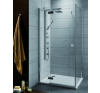 Radaway Almatea KDJ aszimmetrikus zuhanykabin 80x100 kád, zuhanykabin
