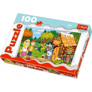 Trefl 100 db-os puzzle - Jancsi és Juliska (16200)
