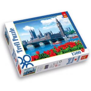 Trefl 1500 db-os puzzle - Parlament London, Anglia (26104)