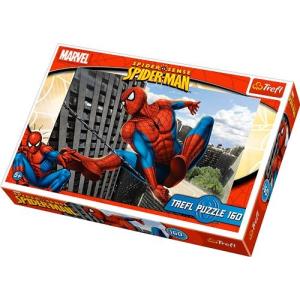 Trefl Pókember a város felett