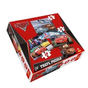 Trefl 3 az 1-ben puzzle (20,36,50 db-os) - Verdák 2. (34073)