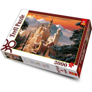 Trefl 3000 db-os puzzle - A Neuschwanstein kastély (33025)