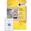 QR kód termék címke 80x35mm (L7122-25)